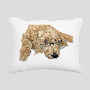 Goldendoodle Stella Rectangular Canvas Pillow