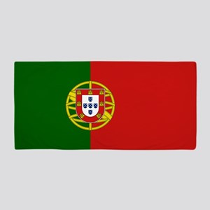 Flag of Portugal Beach Towel