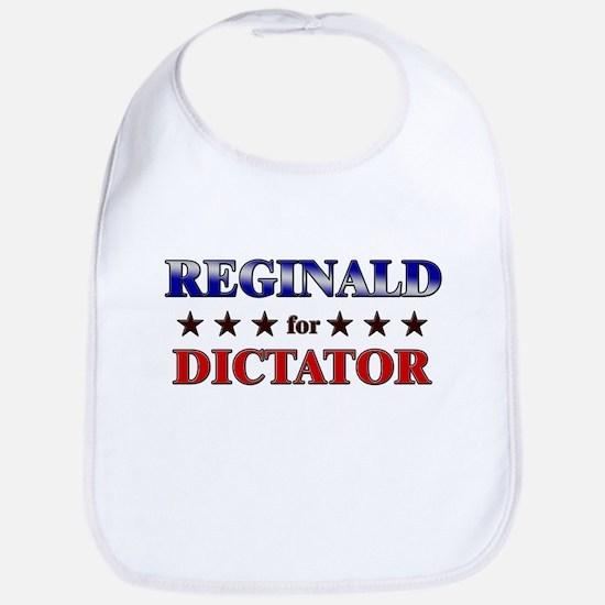 REGINALD for dictator Bib