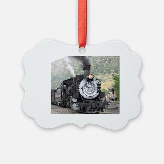 Unique Steam engine Ornament