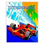 International Grand Prix Auto Racing Print Small P