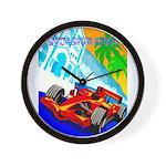 International Grand Prix Auto Racing Print Wall Cl