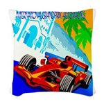 International Grand Prix Auto Racing Print Woven T