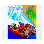 International Grand Prix Auto Racing Print King Du