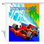 International Grand Prix Auto Racing Print Shower