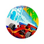 International Grand Prix Auto Racing Print Button