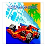 International Grand Prix Auto Racing Print Square