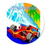 International Grand Prix Auto Racing Print Round C