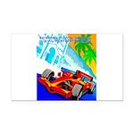 International Grand Prix Auto Racing Print Rectang