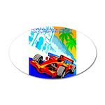 International Grand Prix Auto Racing Print Decal W