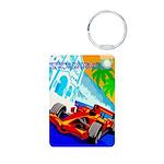 International Grand Prix Auto Racing Print Keychai
