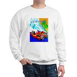 International Grand Prix Auto Racing Print Sweater