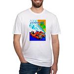 International Grand Prix Auto Racing Print T-Shirt