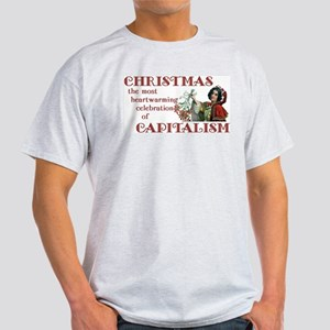 Capitalist Christmas Light T-Shirt