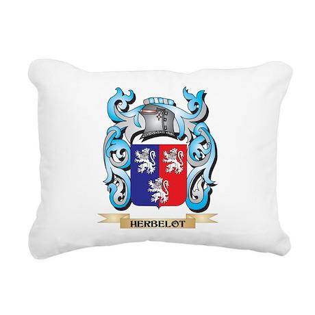 Herbelot Coat of Arms - Rectangular Canvas Pillow
