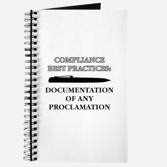Compliance Documentation Journal