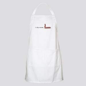 i dig worms BBQ Apron
