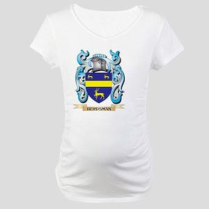 Herdsman Coat of Arms - Family C Maternity T-Shirt