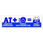 AT = Access! Bumper Sticker