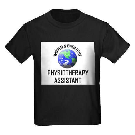 World's Greatest PHYSIOTHERAPY ASSISTANT Kids Dark
