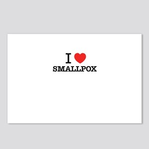 I Love SMALLPOX Postcards (Package of 8)