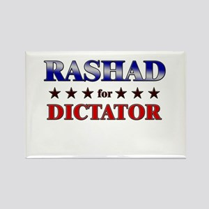 RASHAD for dictator Rectangle Magnet