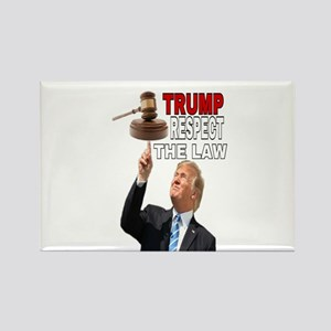 TRUMP RESPECT THE LAW Magnets
