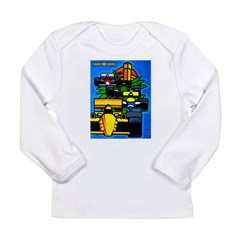Grand Prix Auto Racing Print Long Sleeve T-Shirt