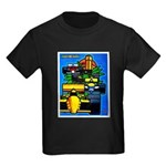 Grand Prix Auto Racing Print T-Shirt