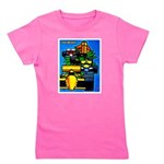 Grand Prix Auto Racing Print Girl's Tee
