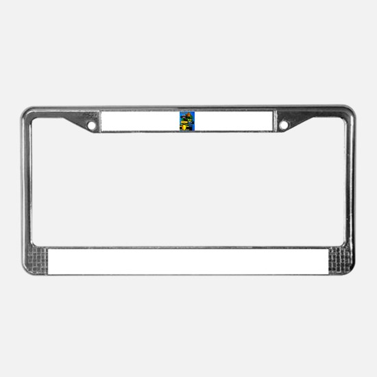 Grand Prix Auto Racing Print License Plate Frame