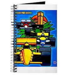 Grand Prix Auto Racing Print Journal