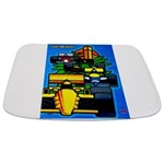 Grand Prix Auto Racing Print Bathmat