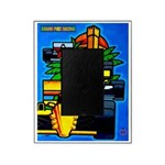 Grand Prix Auto Racing Print Picture Frame