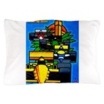 Grand Prix Auto Racing Print Pillow Case