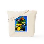 Grand Prix Auto Racing Print Tote Bag