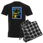 Grand Prix Auto Racing Print pajamas