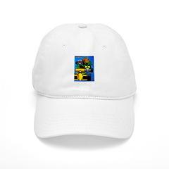 Grand Prix Auto Racing Print Hat