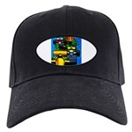 Grand Prix Auto Racing Print Baseball Hat