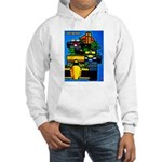 Grand Prix Auto Racing Print Hoodie Sweatshirt
