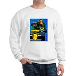 Grand Prix Auto Racing Print Sweater
