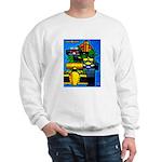 Grand Prix Auto Racing Print Sweater