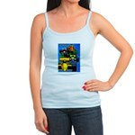 Grand Prix Auto Racing Print Tank Top