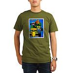 Grand Prix Auto Racing Print T-Shirt