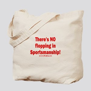 Flopping is lying Tote Bag