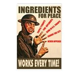 Ingredients of Peace Postcards (Package of 8)