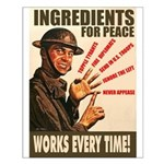 Ingredients of Peace Small Poster