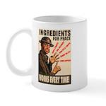 Ingredients of Peace Mug