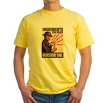Ingredients of Peace Yellow T-Shirt