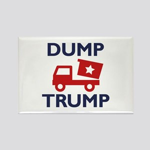 Dump Trump Rectangle Magnet